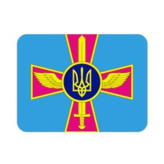 Ensign Of The Ukrainian Air Force Double Sided Flano Blanket (mini)  by abbeyz71