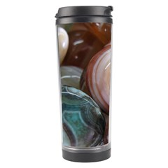 Rain Flower Stones Is A Special Type Of Stone Travel Tumbler by Onesevenart
