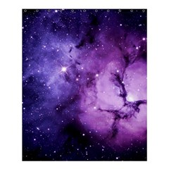 Purple Space Shower Curtain 60  X 72  (medium)  by Onesevenart