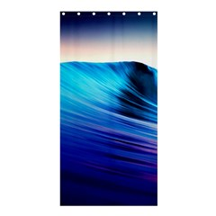 Rolling Waves Shower Curtain 36  X 72  (stall)  by Onesevenart