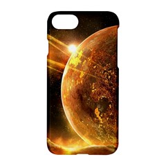Sci Fi Planet Apple Iphone 7 Hardshell Case by Onesevenart