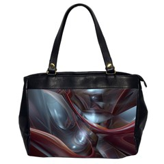 Shells Around Tubes Abstract Office Handbags (2 Sides)  by Onesevenart
