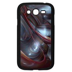 Shells Around Tubes Abstract Samsung Galaxy Grand Duos I9082 Case (black) by Onesevenart