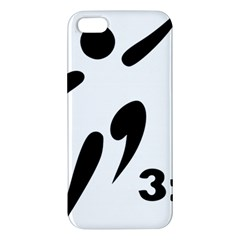 3 On 3 Basketball Pictogram Apple Iphone 5 Premium Hardshell Case by abbeyz71