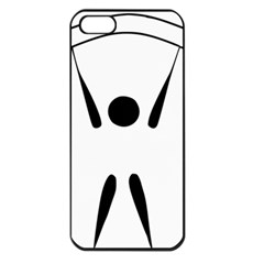Air Sports Pictogram Apple Iphone 5 Seamless Case (black) by abbeyz71