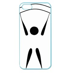 Air Sports Pictogram Apple Seamless Iphone 5 Case (color) by abbeyz71