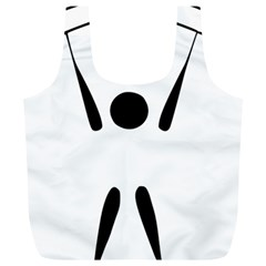 Air Sports Pictogram Full Print Recycle Bags (l)  by abbeyz71