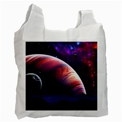 Space Art Nebula Recycle Bag (one Side) by Onesevenart