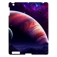 Space Art Nebula Apple Ipad 3/4 Hardshell Case by Onesevenart