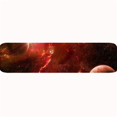Space Red Large Bar Mats by Onesevenart