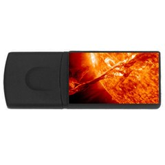 Spectacular Solar Prominence USB Flash Drive Rectangular (2 GB) by Onesevenart