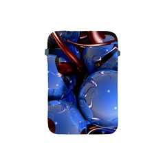 Spheres With Horns 3d Apple Ipad Mini Protective Soft Cases by Onesevenart