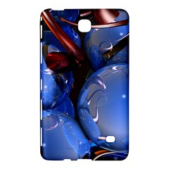 Spheres With Horns 3d Samsung Galaxy Tab 4 (7 ) Hardshell Case  by Onesevenart