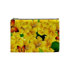Springs First Arrivals Cosmetic Bag (medium)  by Onesevenart