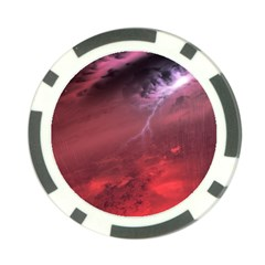 Storm Clouds And Rain Molten Iron May Be Common Occurrences Of Failed Stars Known As Brown Dwarfs Poker Chip Card Guard (10 Pack) by Onesevenart