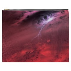 Storm Clouds And Rain Molten Iron May Be Common Occurrences Of Failed Stars Known As Brown Dwarfs Cosmetic Bag (xxxl)  by Onesevenart
