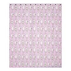 Rabbit Pink Animals Shower Curtain 60  X 72  (medium)  by AnjaniArt