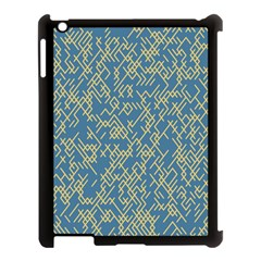 Random Blie Yellow Apple Ipad 3/4 Case (black) by AnjaniArt