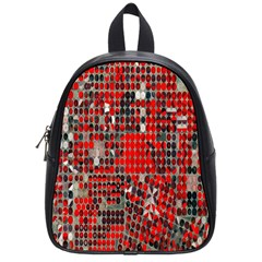 Red Circle School Bags (small)  by AnjaniArt