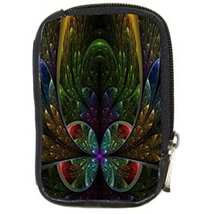Rose Flower Floral Gold Compact Camera Cases by AnjaniArt