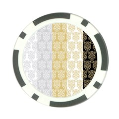 Scrapbook Digitais Estampa Arabesco Scrapbook Para Imprimir Flower Leaf Poker Chip Card Guard