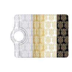 Scrapbook Digitais Estampa Arabesco Scrapbook Para Imprimir Flower Leaf Kindle Fire Hd (2013) Flip 360 Case by AnjaniArt