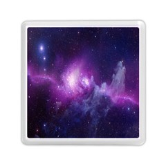 Galaxy Space Purple Memory Card Reader (square)  by AnjaniArt
