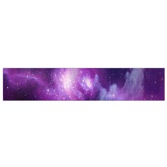 Galaxy Space Purple Flano Scarf (small) by AnjaniArt