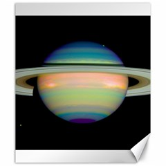 True Color Variety Of The Planet Saturn Canvas 20  X 24   by Onesevenart