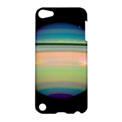 True Color Variety Of The Planet Saturn Apple Ipod Touch 5 Hardshell Case by Onesevenart