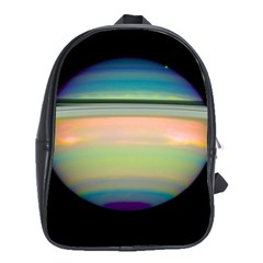 True Color Variety Of The Planet Saturn School Bags (xl)  by Onesevenart