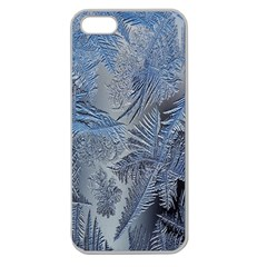 Frost Leafe Apple Seamless Iphone 5 Case (clear) by AnjaniArt