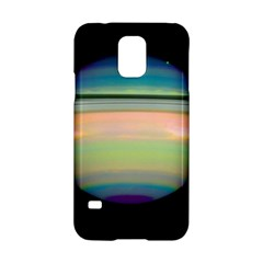 True Color Variety Of The Planet Saturn Samsung Galaxy S5 Hardshell Case  by Onesevenart