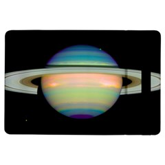 True Color Variety Of The Planet Saturn iPad Air Flip by Onesevenart