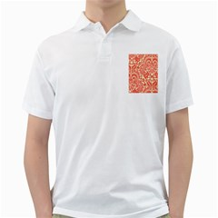 Red Floral Golf Shirts