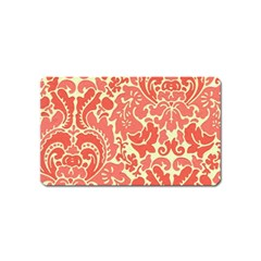 Red Floral Magnet (name Card)