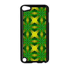 Background Colour Circle Yellow Green Apple Ipod Touch 5 Case (black) by AnjaniArt