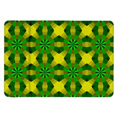 Background Colour Circle Yellow Green Samsung Galaxy Tab 8 9  P7300 Flip Case by AnjaniArt