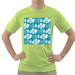Act Symbols Green T Shirt