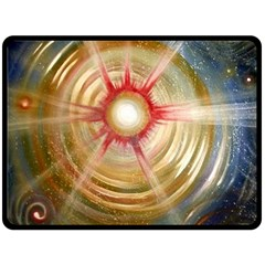 The Painters Universe Double Sided Fleece Blanket (large)  by Onesevenart