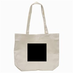 Black Color Tote Bag (cream)