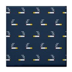 Cigarette Grey Tile Coasters