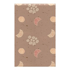 Bread Cake Brown Shower Curtain 48  X 72  (small)