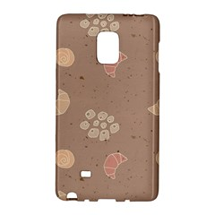 Bread Cake Brown Galaxy Note Edge by AnjaniArt