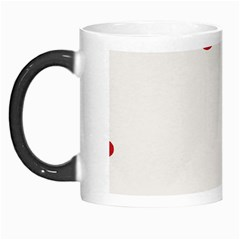 Circle Red Blue Morph Mugs