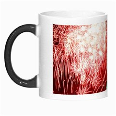 The Statue Of Liberty And 4th Of July Celebration Fireworks Morph Mugs by Onesevenart