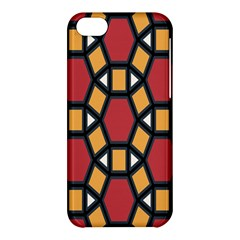 Circle Ball Red Yellow Apple Iphone 5c Hardshell Case by AnjaniArt