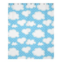 Cloud Blue Sky Shower Curtain 60  X 72  (medium)  by AnjaniArt