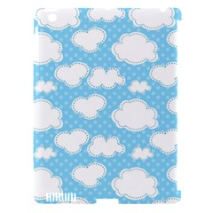 Cloud Blue Sky Apple Ipad 3/4 Hardshell Case (compatible With Smart Cover) by AnjaniArt