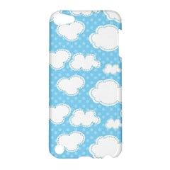 Cloud Blue Sky Apple Ipod Touch 5 Hardshell Case by AnjaniArt